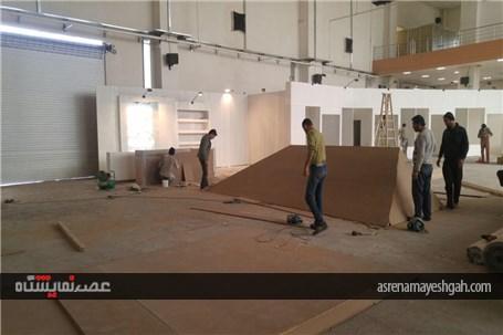 گزارش تصویری یک روزمانده تا برگزاری نمایشگاه خودرو کرمان