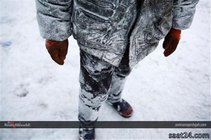 برگزاری جشنواره شهر یخی در چین +تصاویر