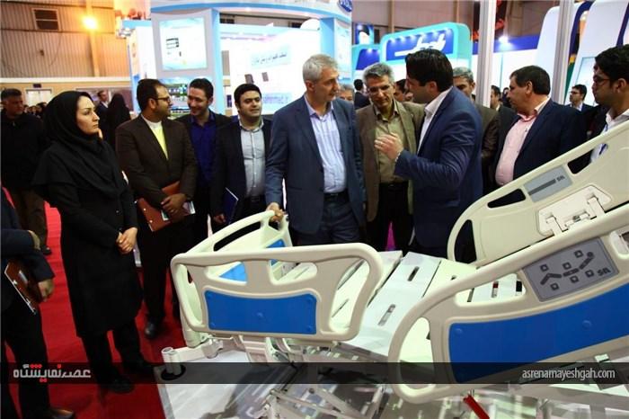 گزارش تصویری افتتاح دوازدهمین نمایشگاه تجهیزات پزشکی، دندانپزشکی و آزمایشگاهی اصفهان