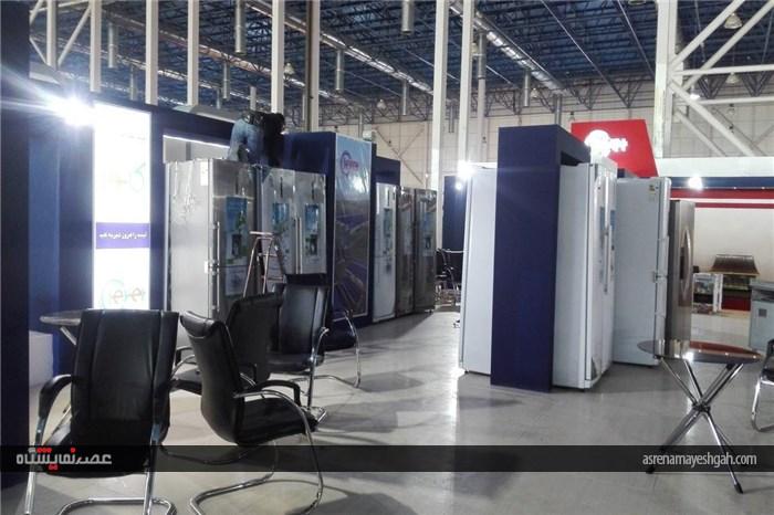 گزارش تصویری آماده سازی نمایشگاه لوازم خانگی مشهد