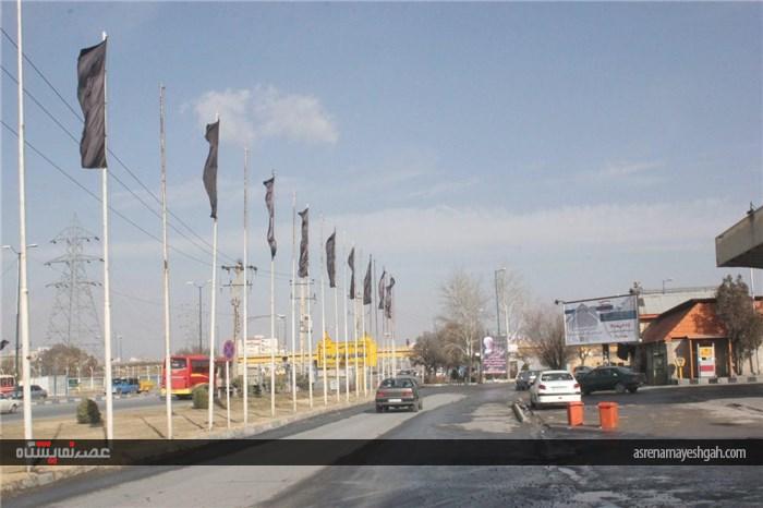 شرکت نمایشگاه های بین المللی همدان سیاه پوش شد