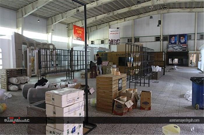 گزارش تصویری آماده سازی غرفه های پانزدهمین نمایشگاه تکنولوژی و تجهیزات کشاورزی و باغبانی اصفهان