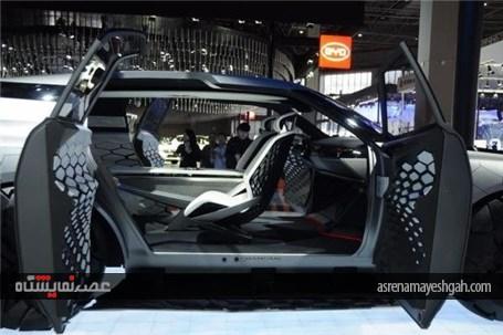 تصاویری از برترین خودروهای نمایشگاه بین المللی شانگهای