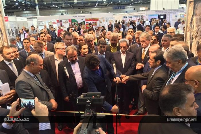گزارش تصویری افتتاح نمایشگاه ایران در اوکراین