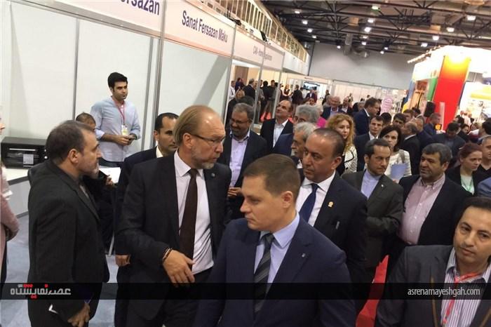 بازدید هیئت های تجاری ایران و اوکران از نمایشگاه
