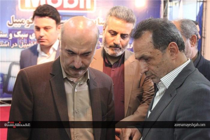 گزارش تصویری ٢ نمایشگاه خودرو همدان