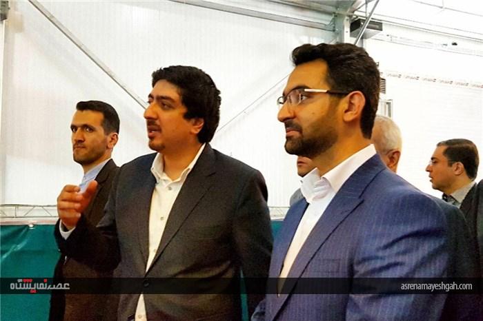 بازدید وزیر ارتباطات و فناوری اطلاعات از سومین لیگ بازیهای رایانهای کشور