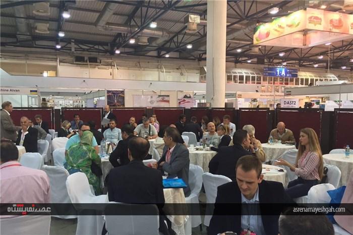 آغاز نشست تجاری در حاشیه برگزاری دومین نمایشگاه تجاری ایران در اوکراین