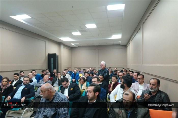 گزارش تصویری انتخابات هیئت مدیره انجمن غرفه سازان