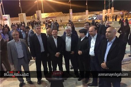 گزارش تصویری از افتتاح هشتمین نمایشگاه بین المللی خودرو کرمان /1