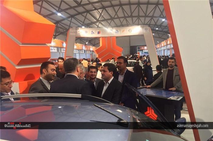 گزارش تصویری از افتتاح هشتمین نمایشگاه خودرو کرمان