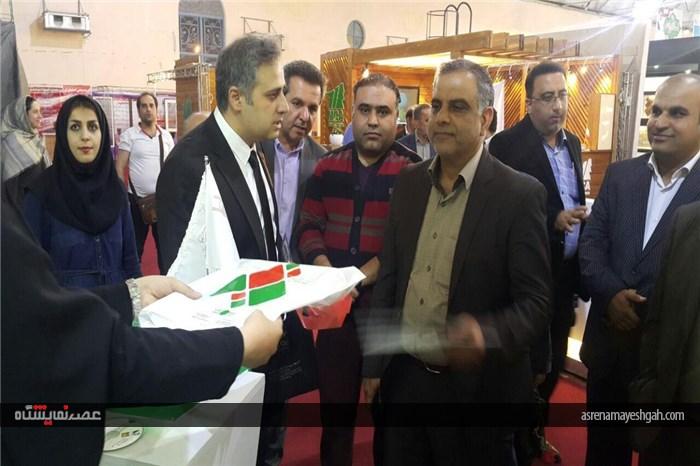 گزارش تصویری افتتاح نمایشگاه ساختمان بوشهر