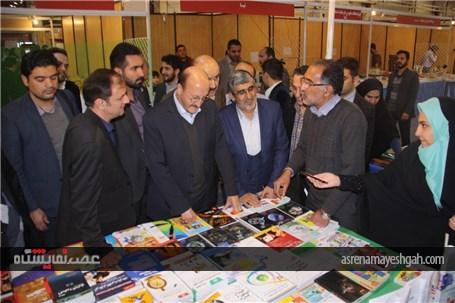 گزارش تصویری افتتاح نمایشگاه کتاب قزوین