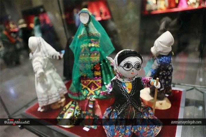 نمایشگاهی برای دوستداران دنیای زیبای عروسکها