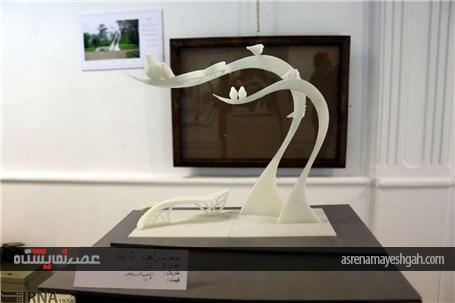 گزارش تصویری اولین نمایشگاه گروهی اعضای انجمن مجسمه سازان آذربایجان شرقی