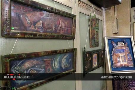 گزارش تصویری نمایشگاه خوشنویسی سنتی پاکستان