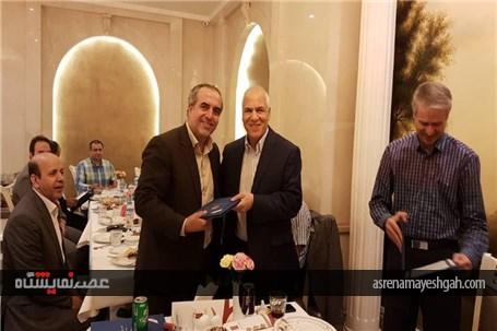 گزارش تصویری تقدیر اسفهبدی از اعضای انجمن غرفه سازی