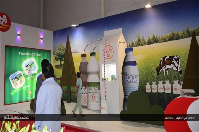 حضور فعالان صنایع کشاورزی و موادغذایی در نمایشگاه اگروفود