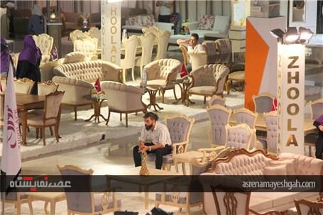 گزارش تصویری نمایشگاه مبلمان ارومیه