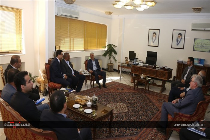 مدیران منطقه ای انجمن جهانی صنعت نمایشگاهی (ufi) در شیراز