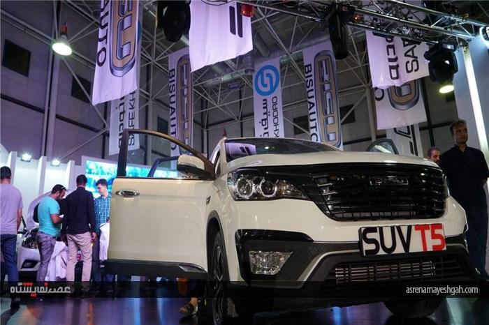 گزارش تصویری از رونمایی محصولات جدید سیف خودرو در نمایشگاه خودرو مشهد