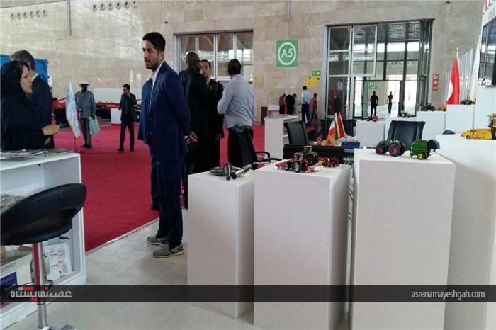 گزارش تصویری دومین دوره نمایشگاه بین المللی کشاورزی اتماک_آی فارم