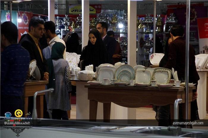 گزارش تصویری نمایشگاه لوازم خانگی و تجهیزات فروشگاهی در شیراز