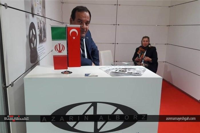 گزارش تصویری از آمادهسازی غرفههای ایرانی اتومکانیکای استانبول