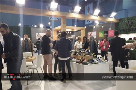 گزارش تصویری شصت و یکمین دوره نمایشگاه کفش استانبول (aymod)