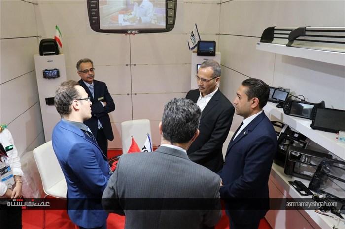 گزارش تصویری بازدید کنسول سفارت ایران از اتومکانیکا استانبول