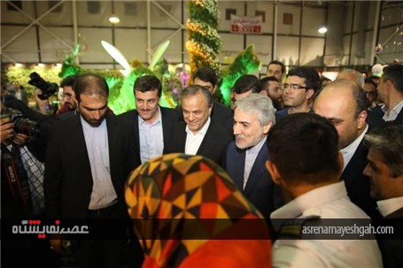 آئین افتتاحیه هجدهمین نمایشگاه گل و گیاه مشهد به روایت تصویر