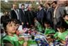 گزارش تصویری افتتاح بیست و پنجمین نمایشگاه فرش دستباف ایران