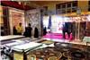 گزارش تصویری برگزاری نمایشگاه فرش ماشینی، لوستر، تزئینات داخلی قم